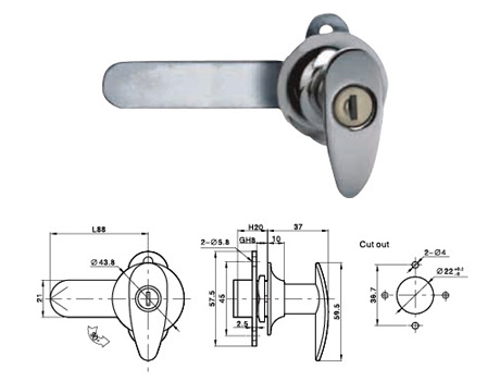 Handle Lock Seriesกุญแจ